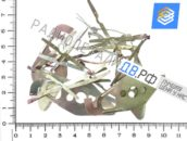 Лигатура с переключателя ШИВ 25; 50 стального цвета